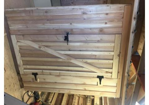 Cedar Hand Crafted Storage Unit/Shed